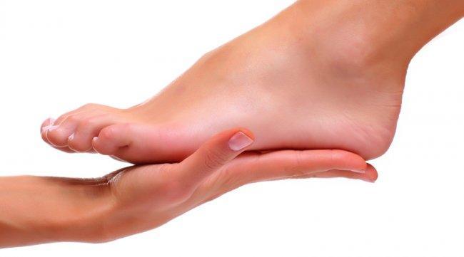 Нога без грибка