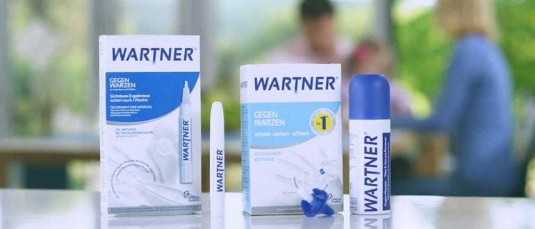 Вартнер — ручка-аппликатор для удаления бородавок