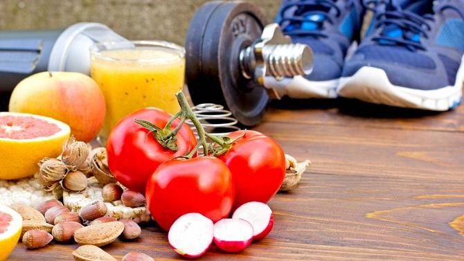 Здоровая пища и спорт