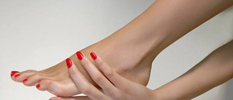 Удалить жировик на ноге