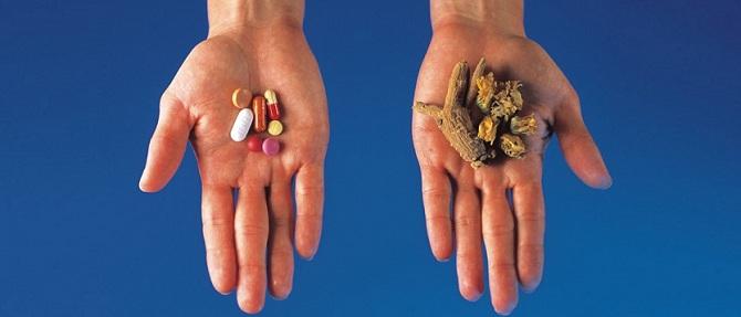 Таблетки и народная медицина