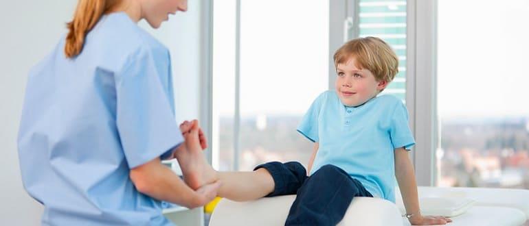 Грибок у детей - причины, симптомы и лечение.