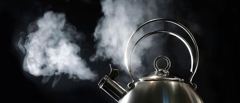 Что делать если обжегся паром от чайника