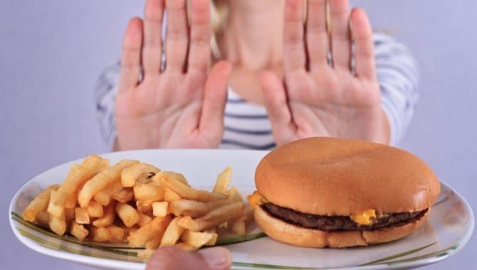 Отказ от жирной пищи