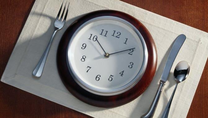 Время приема пищи