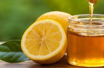 Мед и лимон в косметологии