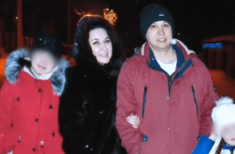 Луиза Хайруллина с семьей