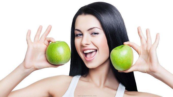 Яблоки в косметологии