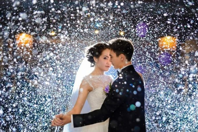 Свадьба под снегом