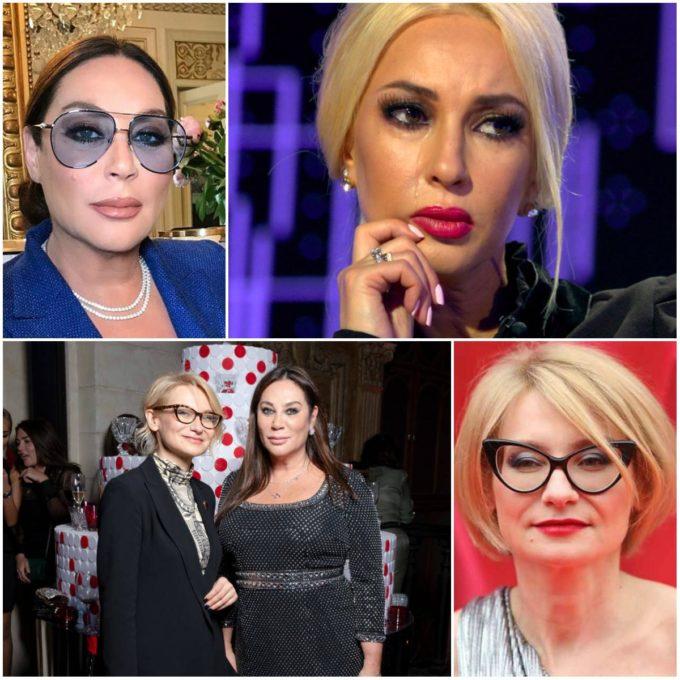 Алла Вербер, Эвелина Хромченко и Лера Кудрявцева
