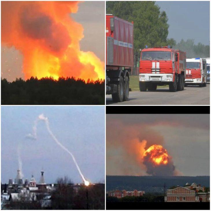 Взрыв на полигоне в Архангельской области