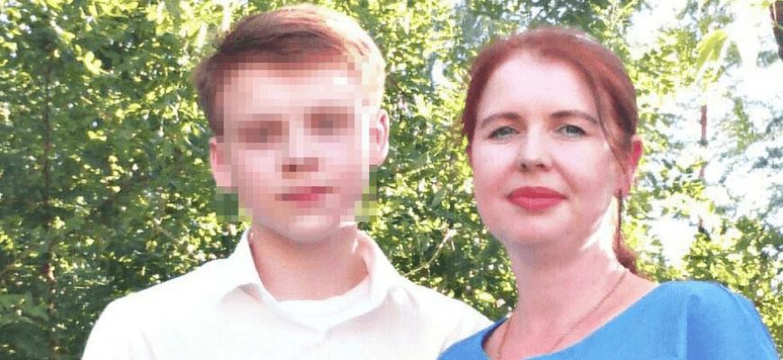 Тимур Камалетдинов со своей матерью