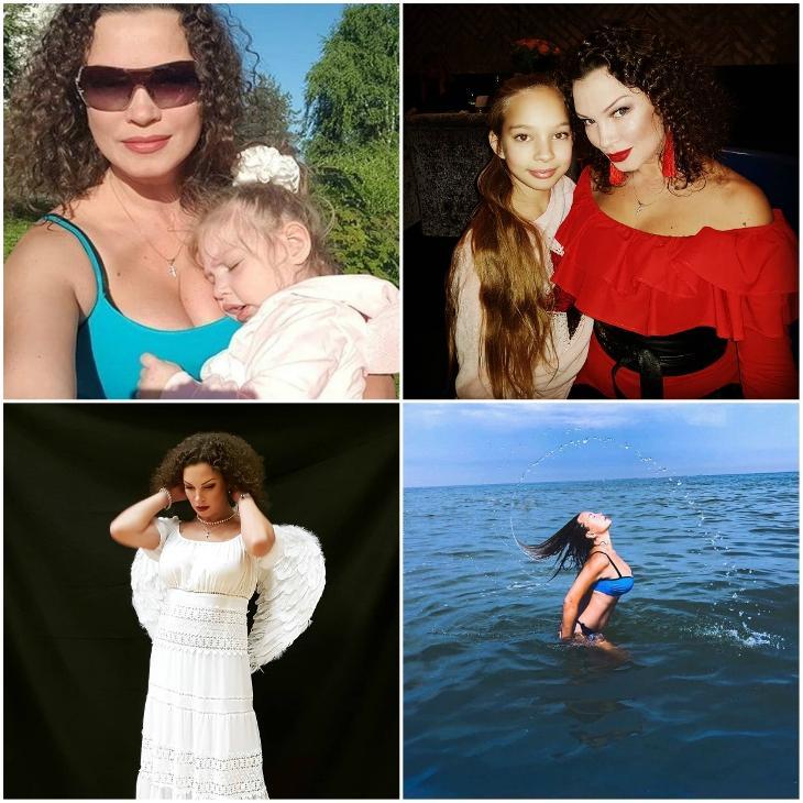 Наталья Устюменко с дочерьми