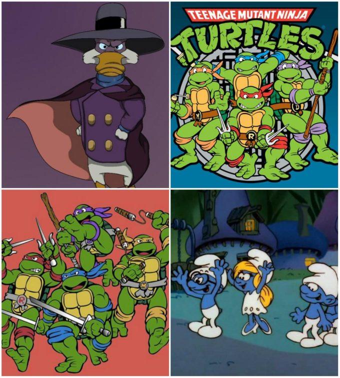 Мультфильмы 90-х