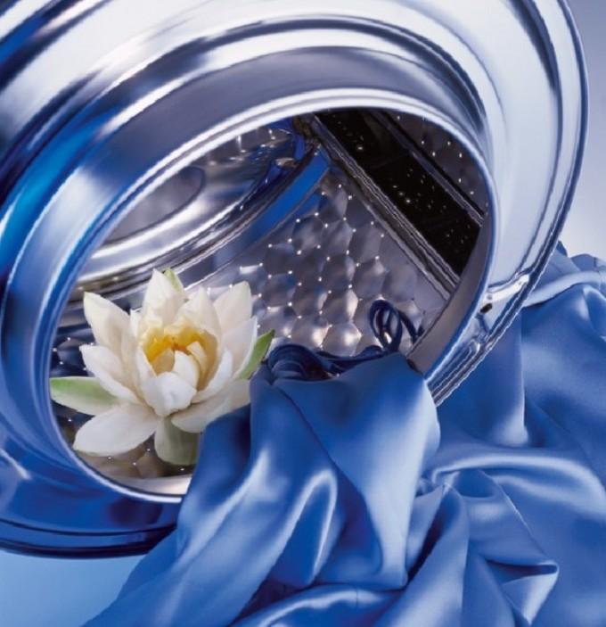 Цветы в стиральной машине