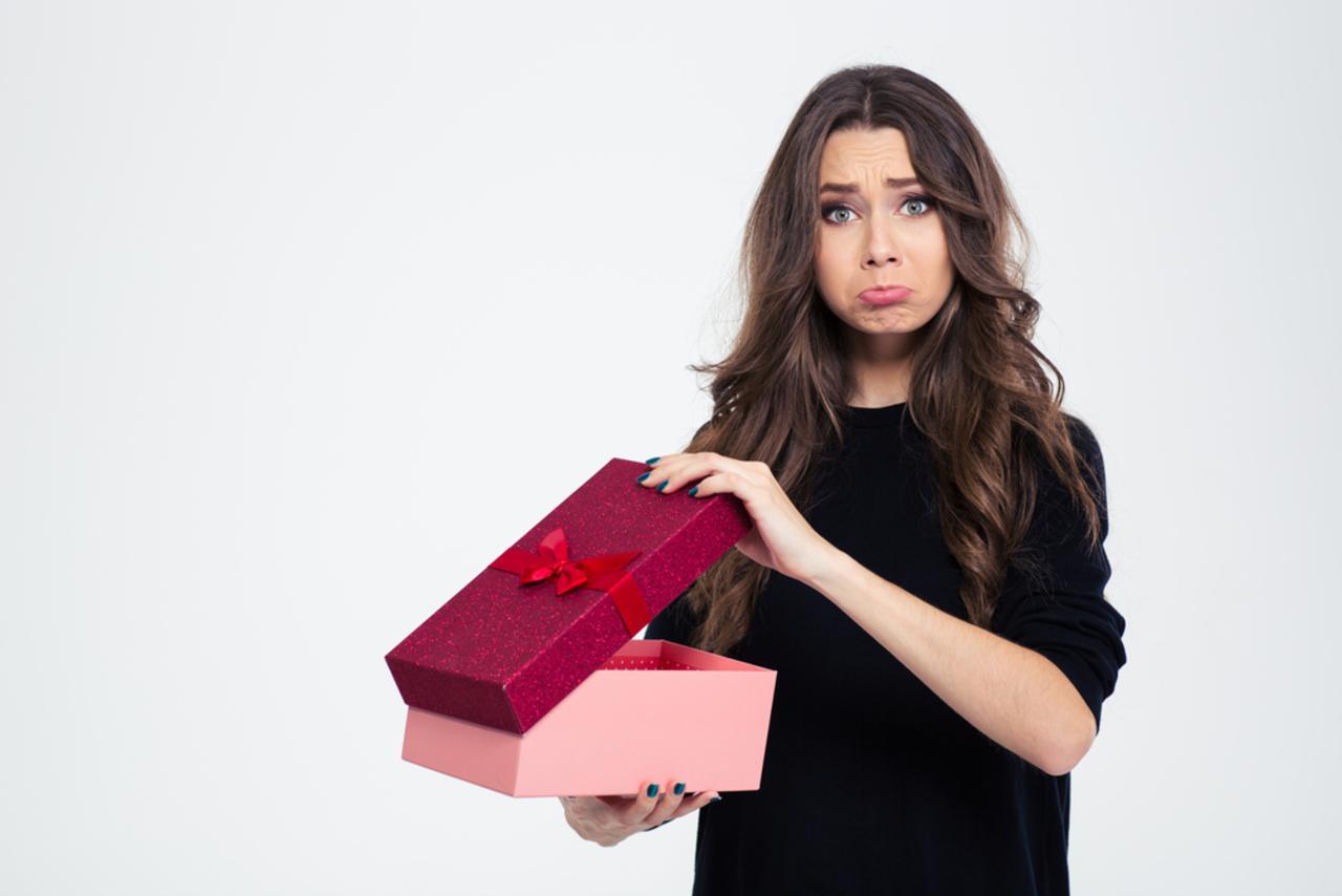 расстроил подарок