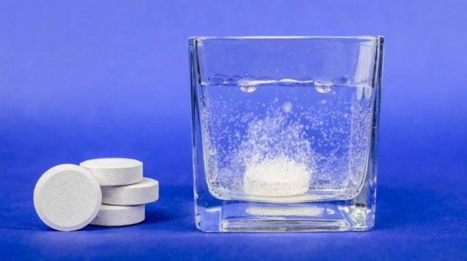 Шипучие таблетки