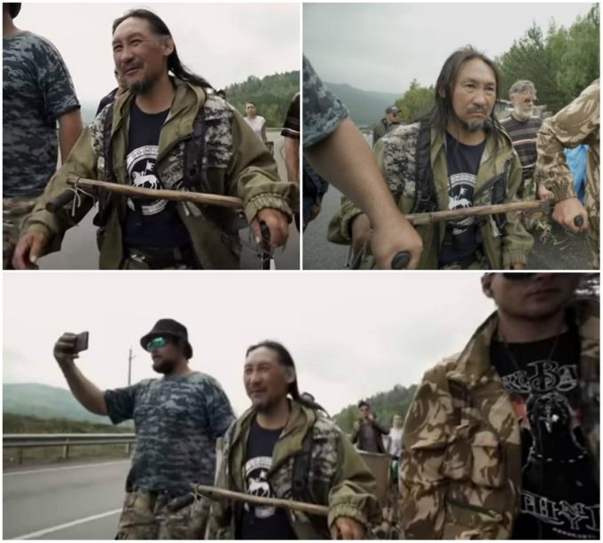 Задержание шамана