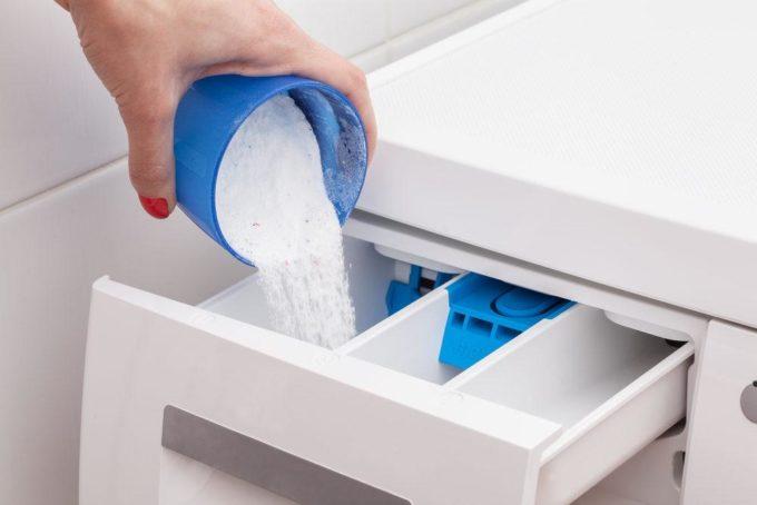 Отделение для порошка в стиральной машине