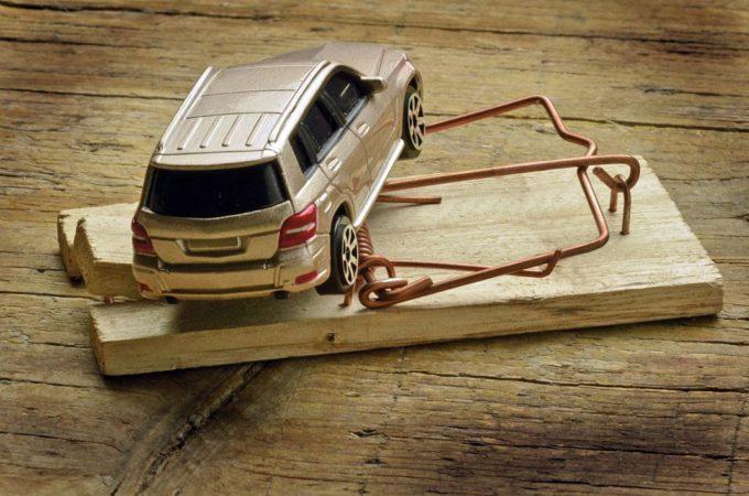 Автомобиль и мышеловка