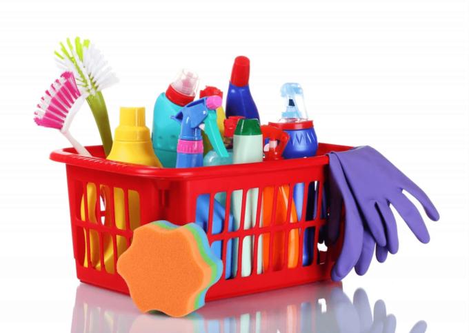 Инструменты для уборки квартиры