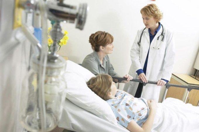 Лечение ребенка в стационаре