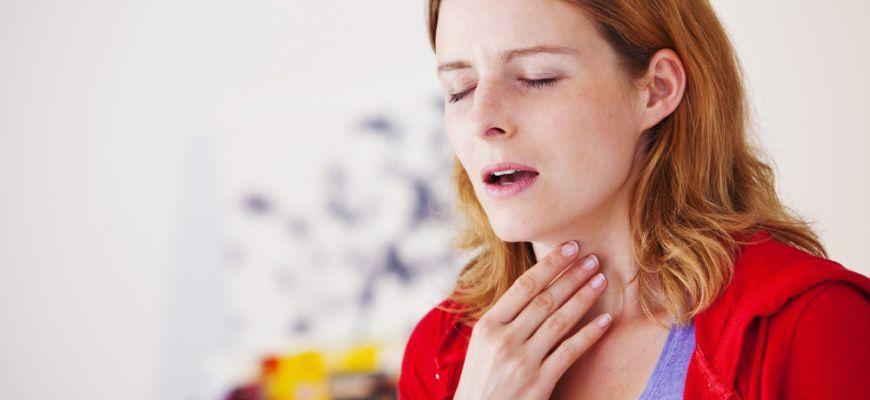 Зачем полоскать горло при кашле