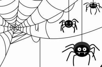 Рисунок пауков