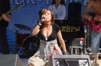 Выступление группы Маневры