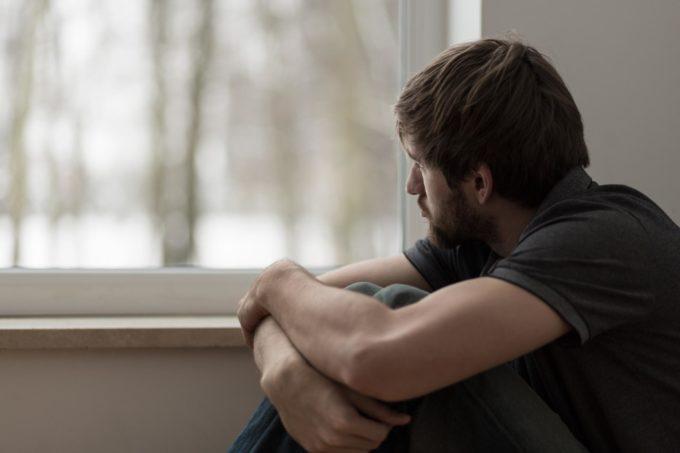 У мужчины депрессия