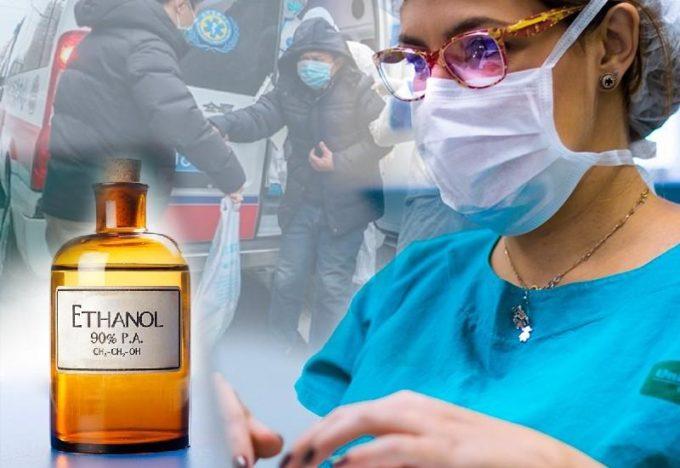 Спирт против коронавируса