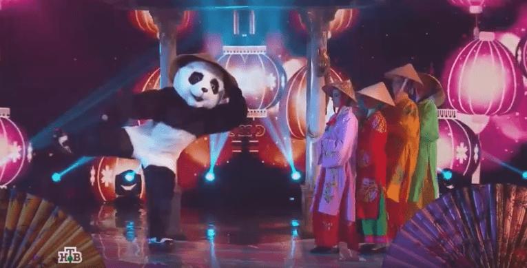 панда в шоу маска 8 выпуск